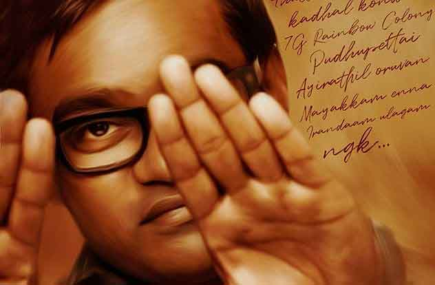 Between-pudhupettai-2-work,-selvaraghavan-post