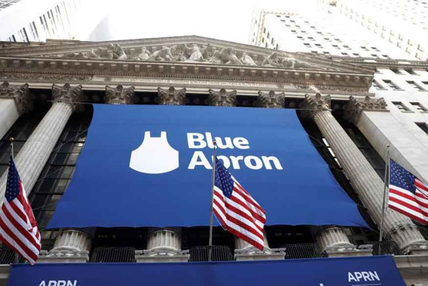 Blue Apron shares sink as coronavirus order bump fails to boost sales