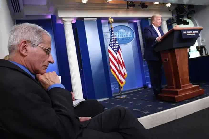 Trump to keep U.S. coronavirus task force but may swap out advisers
