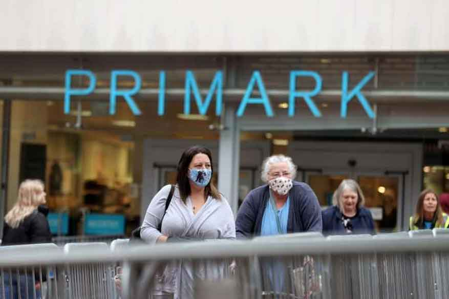 Primark the star attraction as England's stores reopen after lockdown