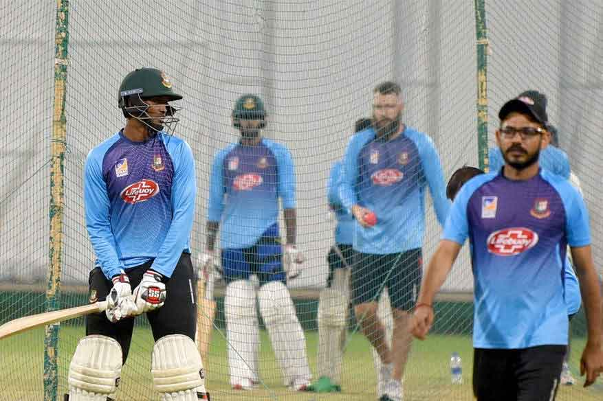 Ten Bangladesh players start individual training