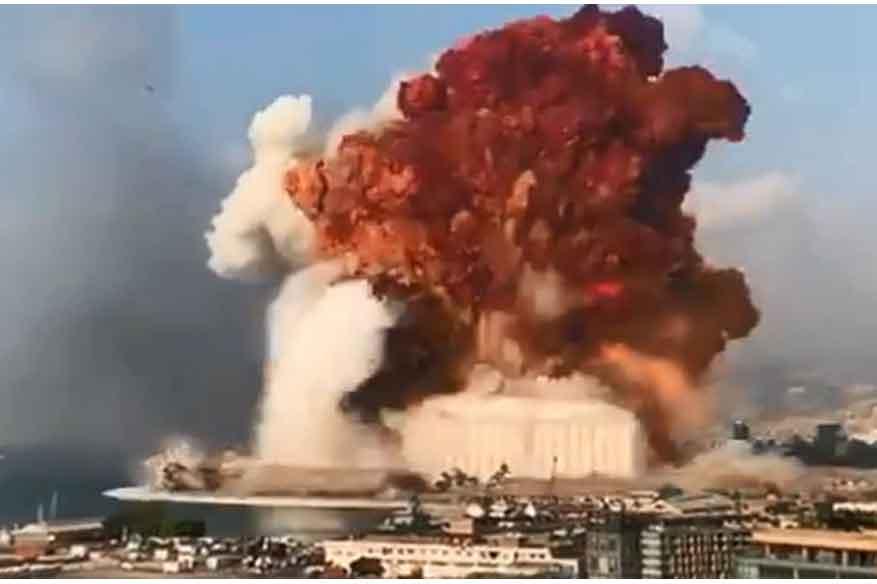 Massive blast in Beirut kills at least 10 people, sending shockwaves across city